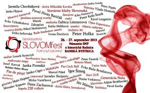 Banskobystrický SLOVOMfest 2013